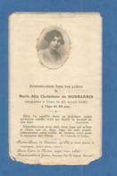 GENEALOGIE FAIRE PART DECES NOBLESSE DE BOISMARMIN 1930 - Décès