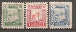3 Timbres De 1893/96 ( China Local Post - Chefoo ) - Ongebruikt