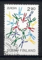 Suomi Finland / Finnland 1995  Mi.Nr. 1295 , EUROPA CEPT - Frieden Und Freiheit - Gestempelt / Fine Used / (o) - Europa-CEPT