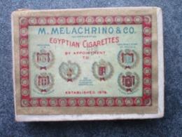 M. MELACHRINO & CO. - Egyptian Cigarettes - Boites De 10 Cigarettes Dont 3 Présentes - Altri