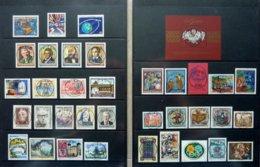 Suisse/Svizzera /Switzerland/United Nations/Netherlands And Colonies/6x Austria Yearsets 1987-1992 On Album Pages - Postzegels