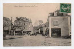 - CPA OBJAT (19) - Avenue Du Jardin Public (avec Personnages) - Edition Léon Coeuille - - France
