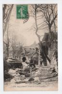 - CPA ALLASSAC (19) - La Grande Fontaine (avec Personnages) - N° 172 - - France
