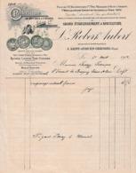 1902 - St JUST-en-CHAUSSÉE - APICULTURE - L. ROBERT AUBERT - Historische Documenten