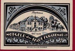 Allemagne 1 Notgeld 25 Pfenning  Stadt Fürstenau  (RARE -SERIE COMPLETE)  Dans L 'état Lot N °5033 - [ 3] 1918-1933 : Repubblica  Di Weimar