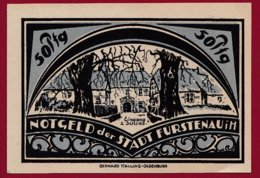 Allemagne 1 Notgeld 50 Pfenning  Stadt Fürstenau  (RARE -SERIE COMPLETE)  Dans L 'état Lot N °5034 - [ 3] 1918-1933 : Repubblica  Di Weimar