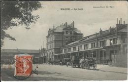 SAONE ET LOIRE : Macon, La Gare - Macon