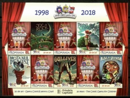 Romania 2018 Rumania / Music Comic Opera For Children  MNH Música Ópera Para Niños Musik Oper Für Kinder / Cu14002  5-49 - Music