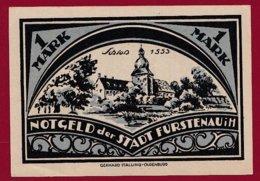 Allemagne 1 Notgeld 1 Mark  Stadt Fürstenau  (RARE -SERIE COMPLETE)  Dans L 'état Lot N °5036 - [ 3] 1918-1933 : Repubblica  Di Weimar