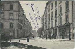 SAONE ET LOIRE : Macon, Rue De Strasbourg Et Place St Etienne - Macon