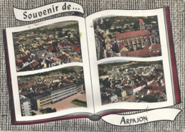 CPM Souvenir D' Arpajon Vues Multiples - Arpajon