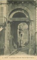 WW 58 NEVERS. Ecuries Sous Le Portail Et Restes Eglise Saint-Sauveur 1914 - Nevers