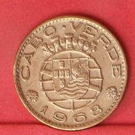 CAPE VERDE 1 ESCUDO 1968 -    KM# 8 - (Nº31999) - Portugal