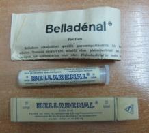 AC - BELLADENAL SANDOZ SAMPLE FOR DOCTORS VINTAGE MEDICINE UNOPENED BOX FOR COLLECTION - Attrezzature Mediche E Dentistiche