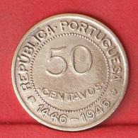 GUINÉ 50 CENTAVOS 1946 -    KM# 6 - (Nº32004) - Portugal