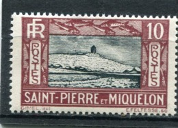 SAINT-PIERRE ET MIQUELON  N°  140 *  (Y&T)   (Charnière) - Ungebraucht