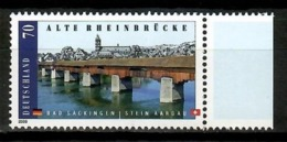 Germany 2008 Alemania / Architecture Bridge Over The Rhine River MNH Puente Arquitectura Brücke / Cu14110  C5-23 - Puentes