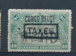 BELGIAN CONGO POSTAGE DUE 1909 ISSUE COB TX21 MINT NO GUM - Belgisch-Kongo