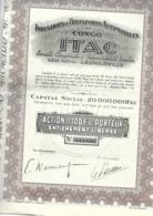 "Industries Et Transports Automobiles Au Congo - ""ITAC"" - Afrika"