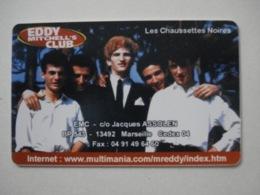"""Carte Téléphonique Prépayée """" Sepa Tél """" Eddy Mitchell (neuve Non Gratter). Jamais Vue !  Rarissime. - Frankrijk"""