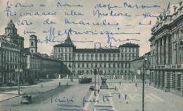Cartolina - Postcard / Viaggiata - Sent/   Torino, Palazzo Reale  ( Gran Formato ) Anni 40° - Palazzo Reale
