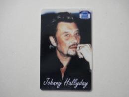 """Carte Téléphonique Prépayée """" Sepa Tél """" Johnny Hallyday (neuve Non Gratter). Jamais Vue !  Rarissime. - Frankrijk"""