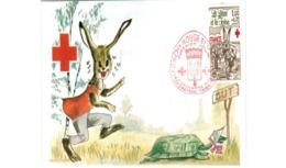 Carte / Croix Rouge   / Le Lièvre Et La Tortue / 2-12-78 - Maximumkarten