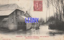 """CPA De PERNOIS (80) - Le """" MOULIN L'EVÊQUE Sur La NIEVRE """" Environs D' AMIENS  Collection BD PARIS - Sonstige Gemeinden"""