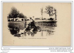 AUTUN - Laveuses Au Bord Du Ternin (précurseur) - Autun