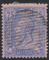 émission 1884 - N°48 Obl Rurale (16 Barres Horizontale). TB - 1884-1891 Leopold II.