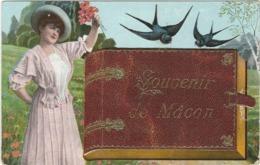 SAONE ET LOIRE : Macon,Souvenir...Multivues (8 Vues...) - Macon