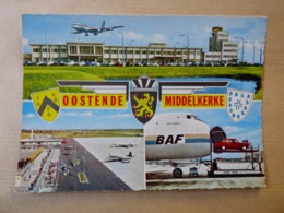AEROPORT / AIRPORT / FLUGHAFEN     OOSTENDE -MIDDELKERKE - Vliegvelden