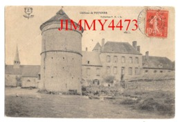CPA - Le Château De PIFFONDS En 1908 - ( Arr. De Sens 89 Yonne ) Coll. P. R. - S - Francia