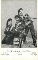 Armenia, Armenian Fedayi Freedom Fighters Militia, Suluhtsi Serop With Sons (1910s) - Arménie