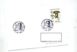 Lettre Cachet Dole Jura Salon Champignon Metrod - Marcofilia (sobres)