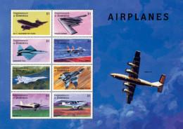 Ref. 594660 * NEW *  - DOMINICA . 1998. AIRCRAFTS. AVIONES - Dominica (1978-...)