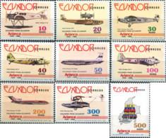 Ref. 308998 * NEW *  - ECUADOR . 1988. AVIANCA - Ecuador