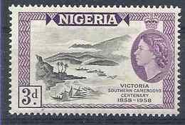 1958 NIGERIA 90** Port - Nigeria (1961-...)