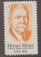 USA 1984 Horace Moses 1v ** Mnh (45011) - Ongebruikt