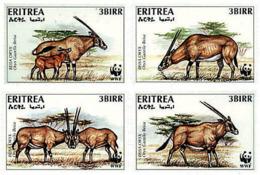 Ref. 74151 * NEW *  - ERITREA . 1996. BEISA ORYX. ORYX DE BEISA - Eritrea