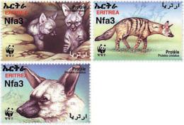 Ref. 258549 * NEW *  - ERITREA . 2001. AARDWOLF. LOBO DE TIERRA - Eritrea
