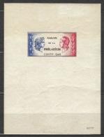 France - Bloc CNEP 1946 - N° 1 A * - C.S.N.T.P. - Salon Philatélique - - CNEP