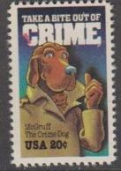 USA 1984 Crime 1v ** Mnh (45011C) - Ongebruikt