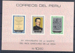 1969 PEROU BF 7** Armoirie, Inca - Pérou