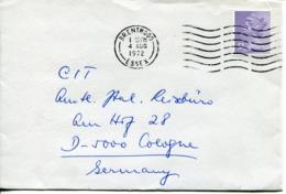Regno Unito (1972) - Busta Per La Germania - 1952-.... (Elisabetta II)