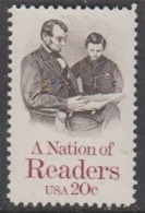 USA 1984 A Nation Of Readers 1v ** Mnh (45011F) - Ongebruikt