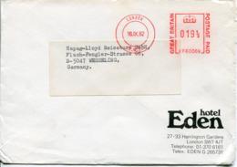Regno Unito (1982) - Busta Per La Germania - 1952-.... (Elisabetta II)