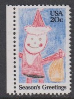 USA 1984 Season's Greetings 1v ** Mnh (45011I) - Ongebruikt