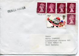 Regno Unito (1984) - Busta Per La Germania - 1952-.... (Elisabetta II)