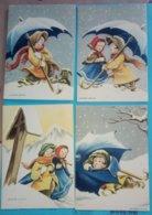 LOT DE 4 CARTES NADIANI CASA EDITRICE BALLERINI ET FRATINI N° 1042 1043 - Illustrateurs & Photographes